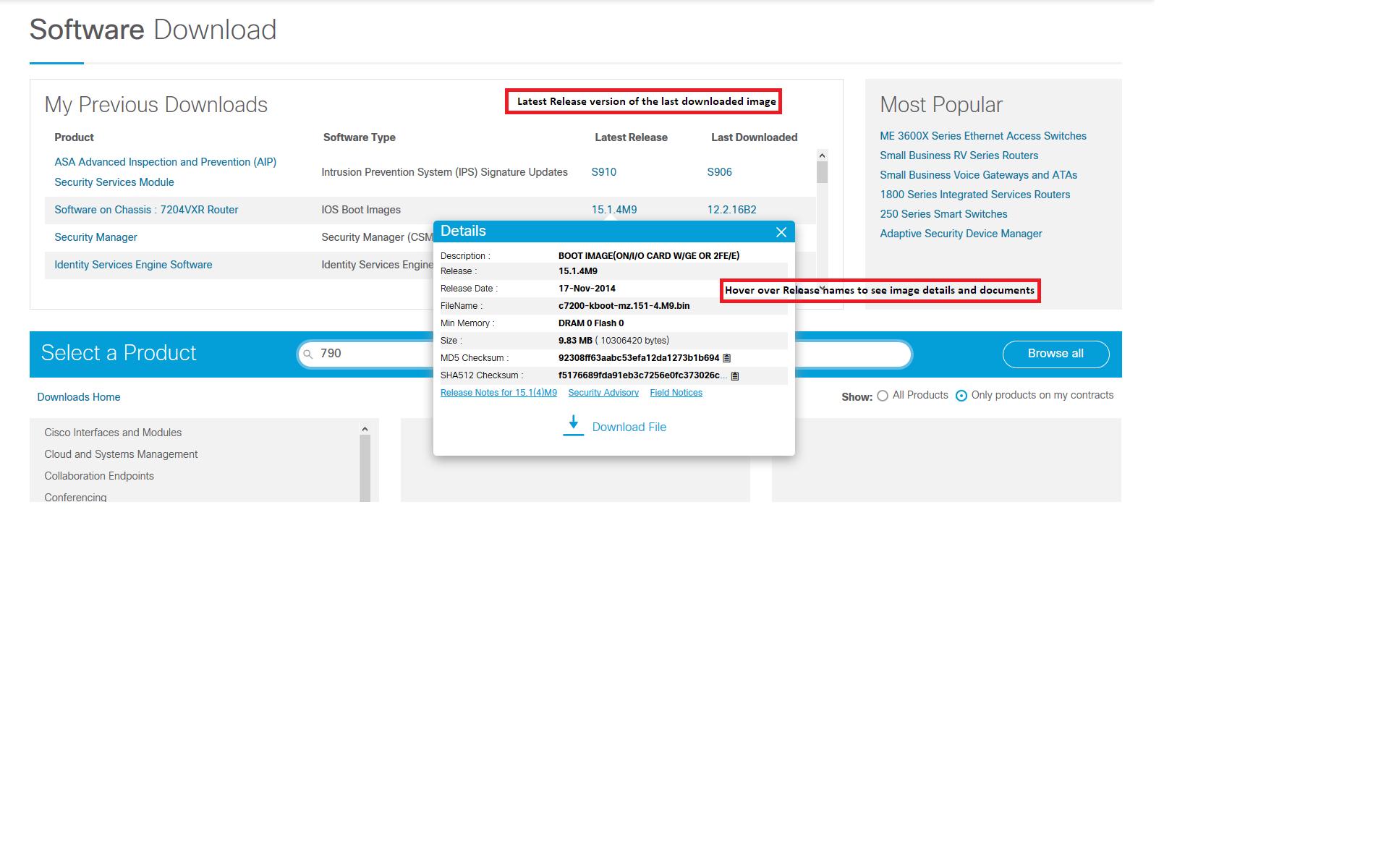 cisco software downloads help faq
