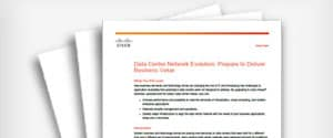 White Paper: Data Center Network Evolution