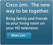 Cisco umi.  The new way to be together.