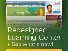Learning Center Banner Ad