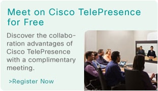Meet on Cisco TelePresence for Free