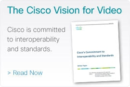 The Cisco Vision for Video - Read Now