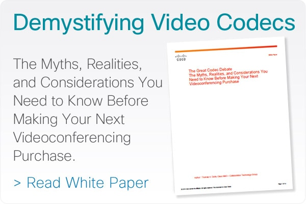 Demystifying Video Codecs - Read the White Paper